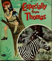 Cover of: Especially from Thomas