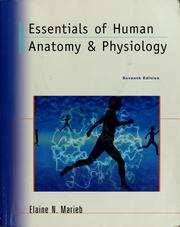 Cover of: Essentials of human anatomy & physiology
