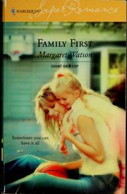 Cover of: Family first