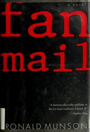 Cover of: Fan mail | Ronald Munson