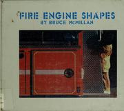 Cover of: Fire engine shapes | Bruce McMillan