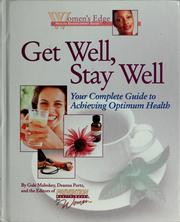 Cover of: Get well, stay well