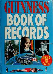 Cover of: Guinness book of records