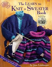 Cover of: The learn to knit a sweater book