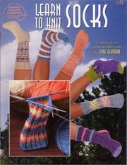 Cover of: Learn to knit socks | Edie Eckman