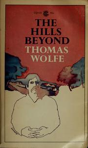 Cover of: The hills beyond | Thomas Wolfe
