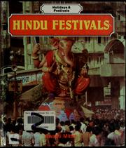 Cover of: Hindu festivals
