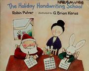 Cover of: The Holiday handwriting school