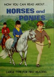 Cover of: Horses and ponies | Stephen Attmore