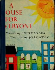 Cover of: A house for everyone