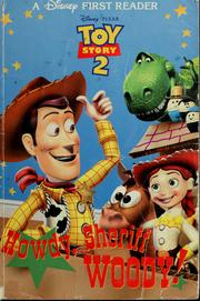 Cover of: Howdy, Sheriff Woody!