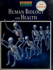 Cover of: Human biology and health | Anthea Maton