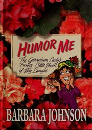 Cover of: Humor me