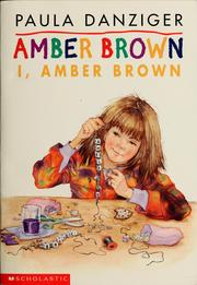 Cover of: I, Amber Brown