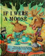Cover of: If I Were a Moose