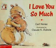 Cover of: I love you so much