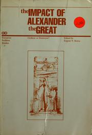 Cover of: The impact of Alexander the Great