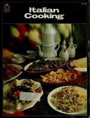 Cover of: Italian cooking