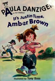 Cover of: It's Justin Time, Amber Brown