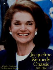 Cover of: Jacqueline Kennedy Onassis, 1929-1994