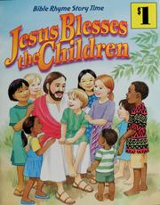 Cover of: Jesus blesses the children