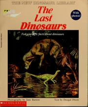 Cover of: The last dinosaurs