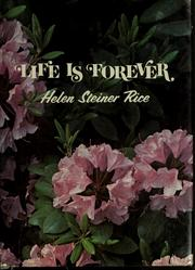 Cover of: Life is forever