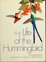 Cover of: The life of the hummingbird