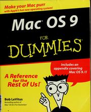 Cover of: Mac OS 9 for dummies