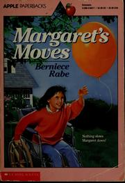 Cover of: Margaret's moves