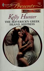 Cover of: The maverick's Greek Island mistress