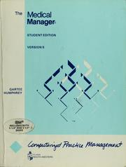 Cover of: The Medical manager