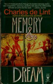 Cover of: Memory and dream