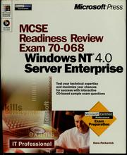 Cover of: Microsoft MCSE readiness review