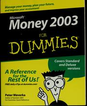 Cover of: Microsoft Money 2003 for dummies