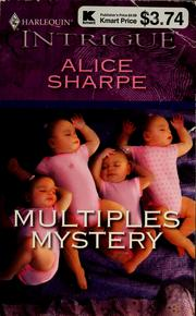 Cover of: Multiples mystery | Alice Sharpe