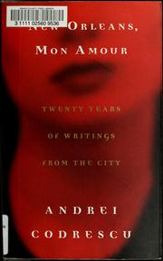 Cover of: New Orleans, mon amour