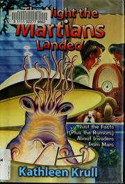 Cover of: The night the Martians landed