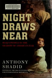 Cover of: Night draws near
