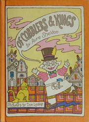 Cover of: Of cobblers and kings | Aure Sheldon