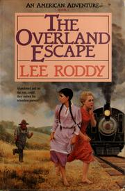 Cover of: The overland escape
