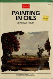 Cover of: Painting in oils
