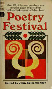 Cover of: Poetry festival | John Bettenbender