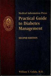Cover of: Practical guide to diabetes management | William T. Cefalu
