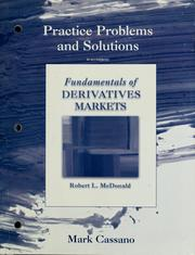 Cover of: Practice problems and solutions