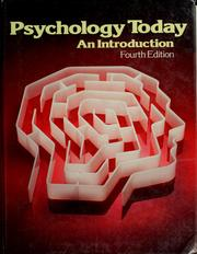 Cover of: Psychology today | Jay Braun
