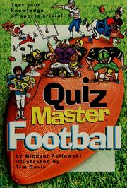 Cover of: Quiz master football | Michael Pellowski