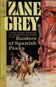 Cover of: Raiders of Spanish Peaks