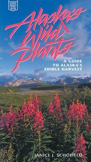 Cover of: Alaska's wild plants