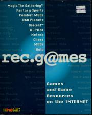 Cover of: Rec.g@mes: games and game resources on the Internet